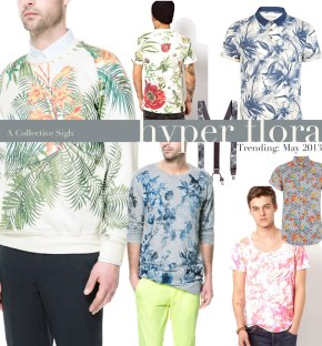 mens floral fashion